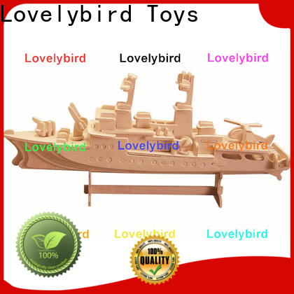 Lovelybird Toys 3d puzzle military factory for business
