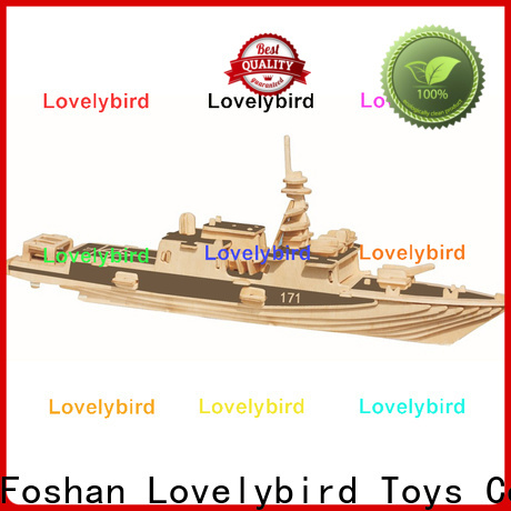 Lovelybird Toys wholesale 3d puzzle military factory for present