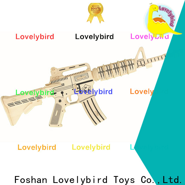 Lovelybird Toys 3d puzzle military company for present