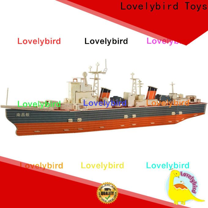 Lovelybird Toys wholesale 3d puzzle military suppliers for kids