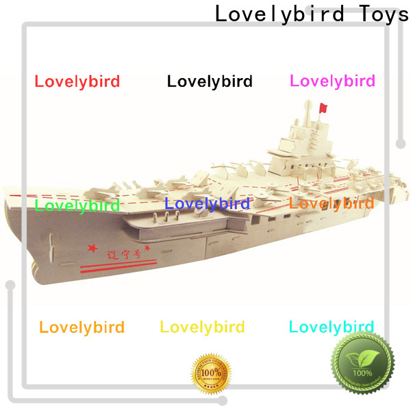Lovelybird Toys superior quality 3d puzzle military factory for business