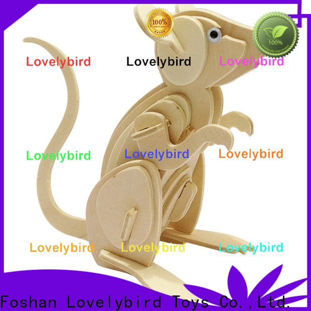 Lovelybird Toys best 3d wooden puzzle animals supply for present