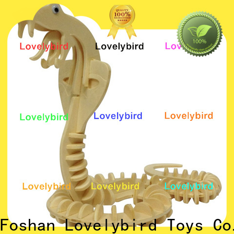 Lovelybird Toys wooden 3d animal puzzles suppliers for adults