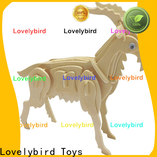 top 3d wooden animal puzzle suppliers for kids