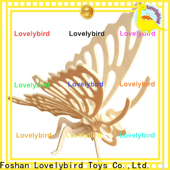 custom 3d wooden puzzle animals suppliers for business
