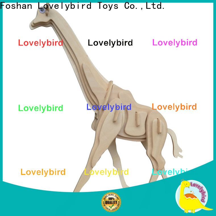 Lovelybird Toys top 3d wooden puzzle animals suppliers for business
