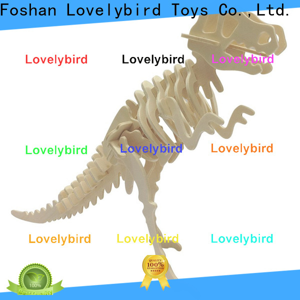 Lovelybird Toys top 3d wooden puzzle animals supply for present