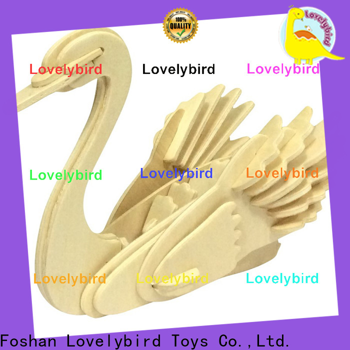 Lovelybird Toys latest 3d wooden animal puzzle factory for business