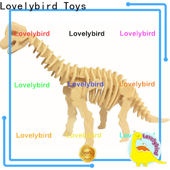 Lovelybird Toys 3d wooden puzzle animals company for present