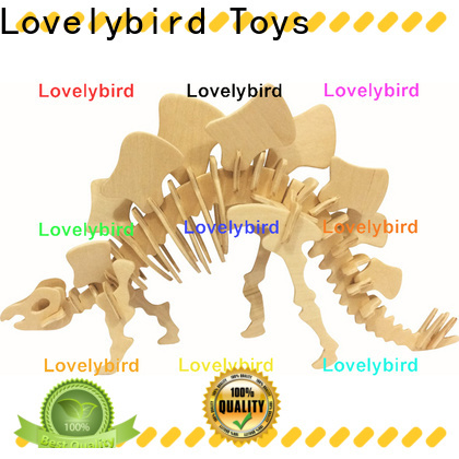 Lovelybird Toys fast delivery 3d wooden animal puzzle company for entertainment