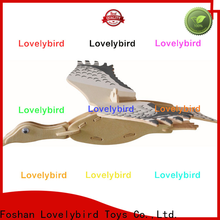Lovelybird Toys top 3d wooden animal puzzle factory for business
