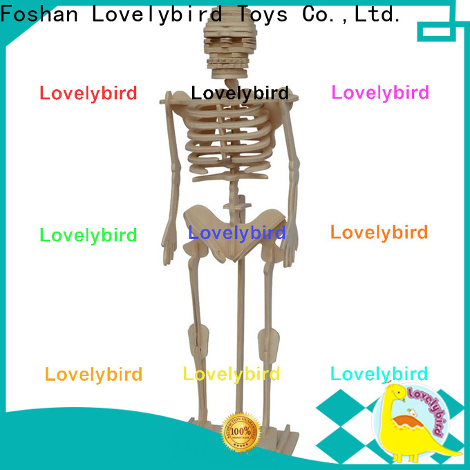 Lovelybird Toys 3d wooden animal puzzle factory for adults
