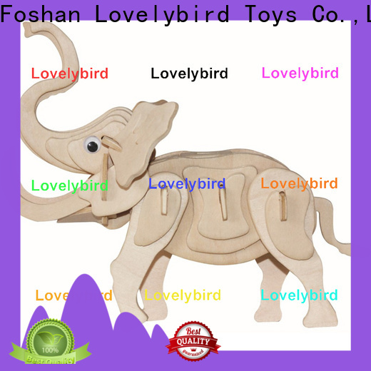 Lovelybird Toys new wooden 3d animal puzzles factory for present