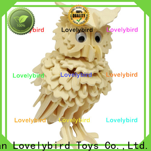 beautiful 3d wooden animal puzzle manufacturers for kids
