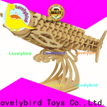 Lovelybird Toys 3d wooden puzzle animals company for sale