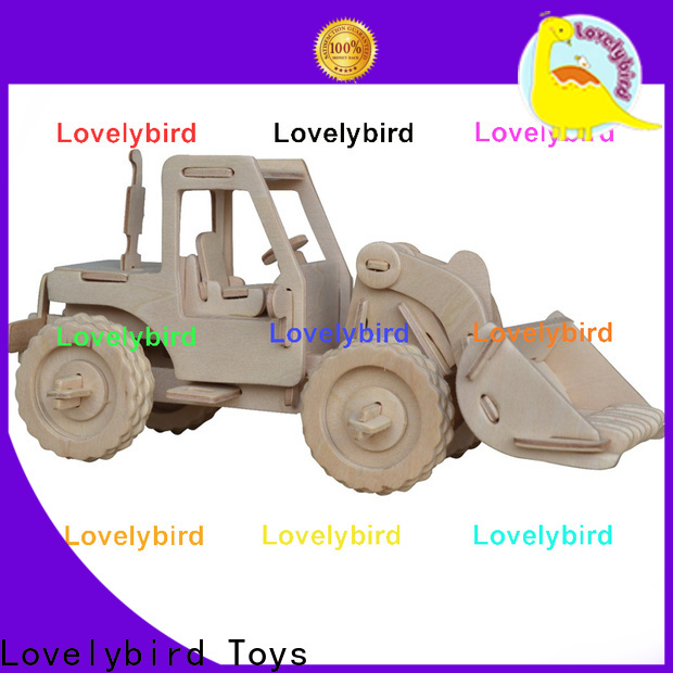 Lovelybird Toys 3d truck puzzle supply for sale