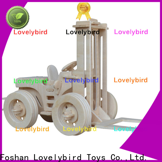 Lovelybird Toys best 3d puzzle truck supply for present