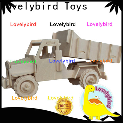 Lovelybird Toys 3d puzzle truck factory for business
