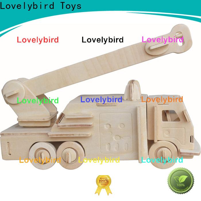 Lovelybird Toys custom 3d puzzle truck factory for kids