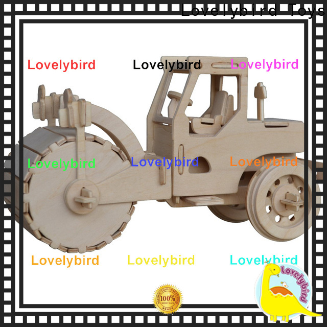 Lovelybird Toys wholesale 3d truck puzzle manufacturers for entertainment