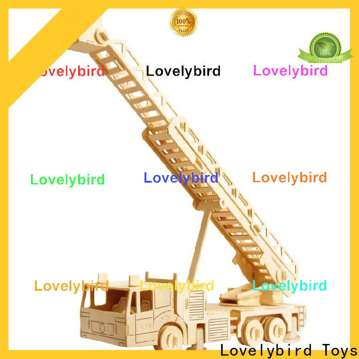 Lovelybird Toys 3d puzzle truck supply for sale