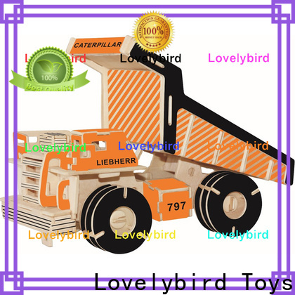 custom 3d truck puzzle suppliers for kids
