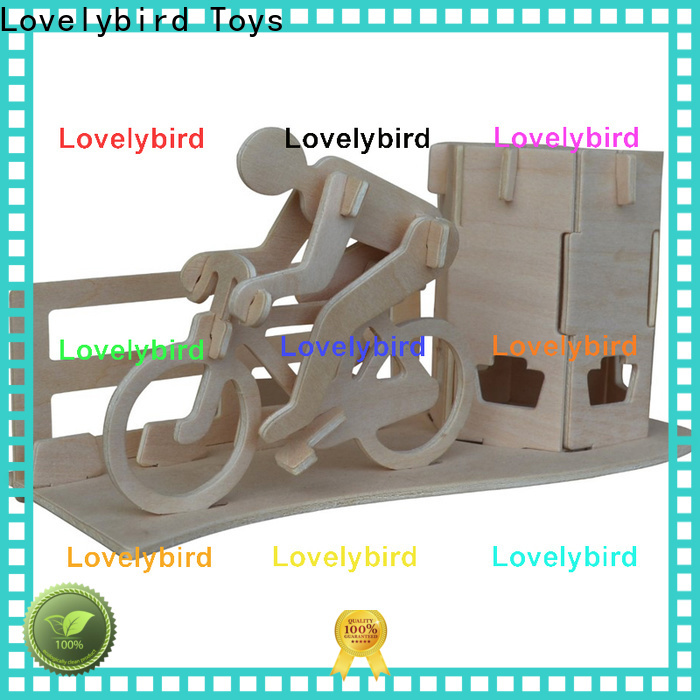 Lovelybird Toys new 3d wooden puzzle dollhouse furniture company for game