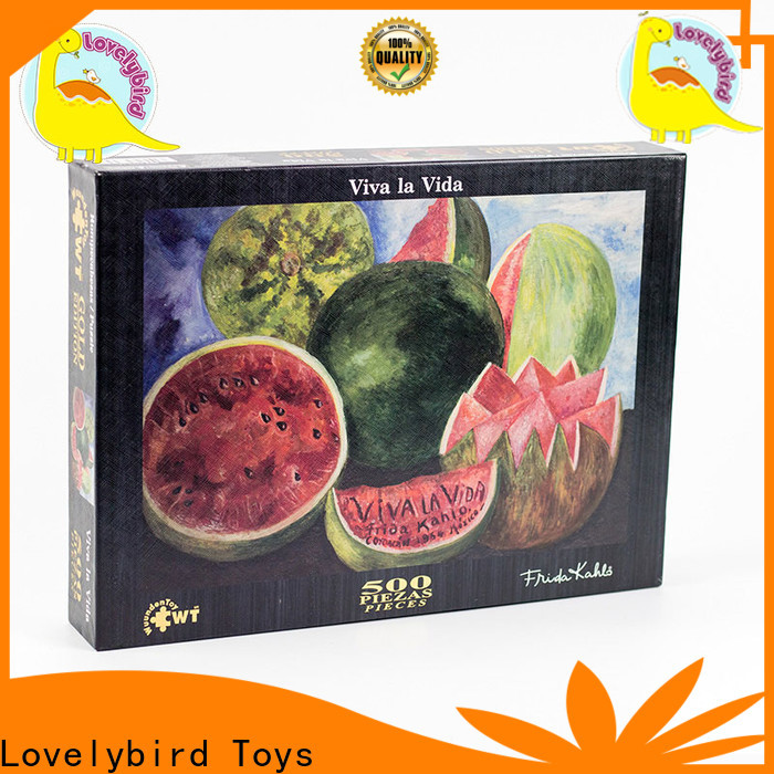 Lovelybird Toys new jigsaw puzzles design for sale