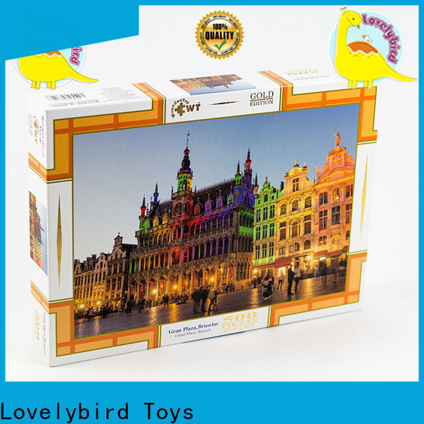 Lovelybird Toys popular new jigsaw puzzles company for kids