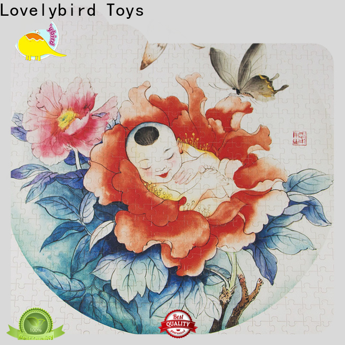 Lovelybird Toys lovely childrens wooden puzzles toy for adult