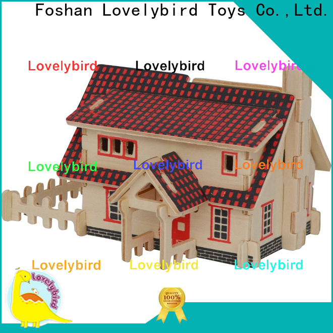 Lovelybird Toys 3d building puzzle manufacturers for business