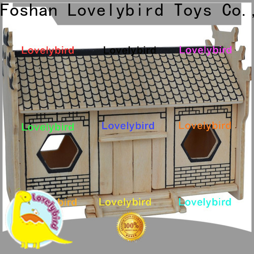 Lovelybird Toys top 3d wooden house puzzles company for sale