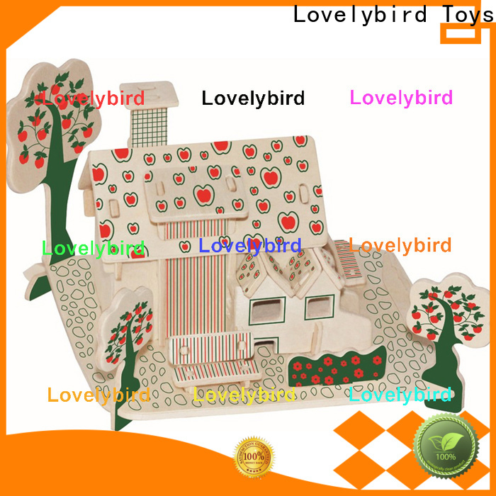 Lovelybird Toys custom 3d building puzzle suppliers for sale