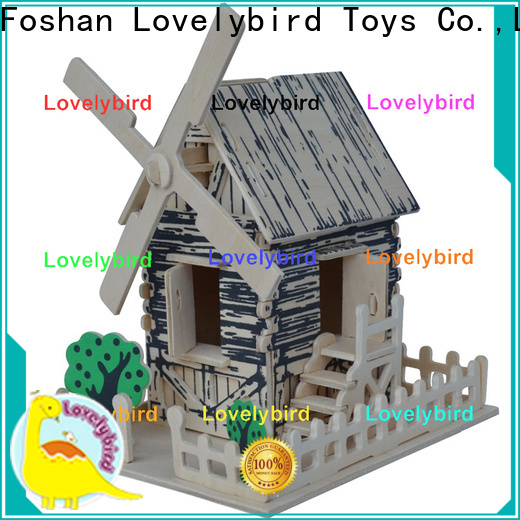 Lovelybird Toys custom 3d building puzzle supply for business