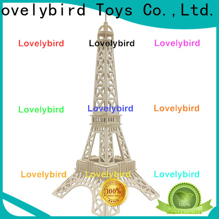 Lovelybird Toys best 3d building puzzle suppliers for sale