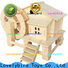top 3d wooden puzzle house supply for present