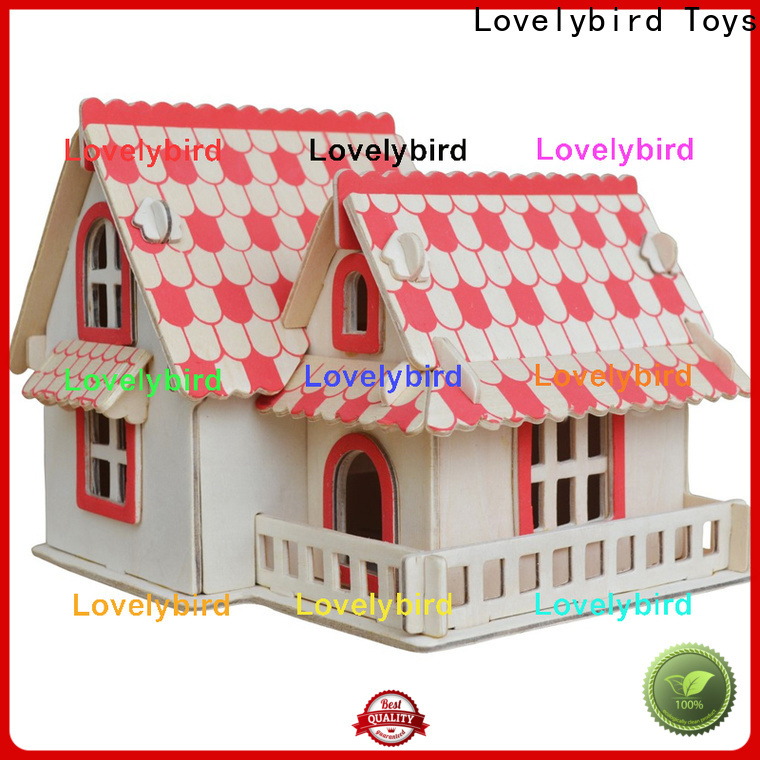 Lovelybird Toys good selling 3d building puzzle supply for present