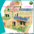 wholesale 3d wooden house puzzles manufacturers for present
