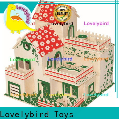 Lovelybird Toys 3d building puzzle suppliers for sale
