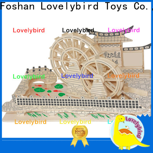 Lovelybird Toys custom 3d building puzzle manufacturers for kids