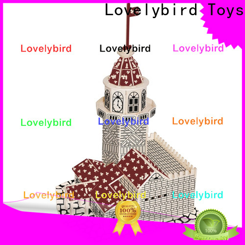 latest 3d building puzzle company for kids