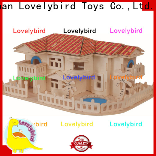 Lovelybird Toys interesting 3d building puzzle factory for present