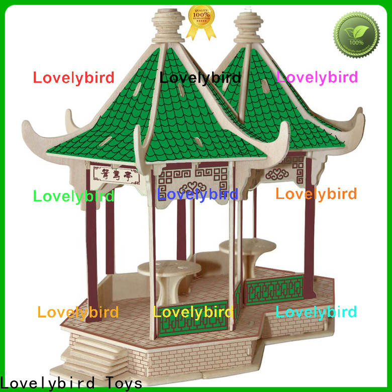 Lovelybird Toys new 3d building puzzle supply for adults