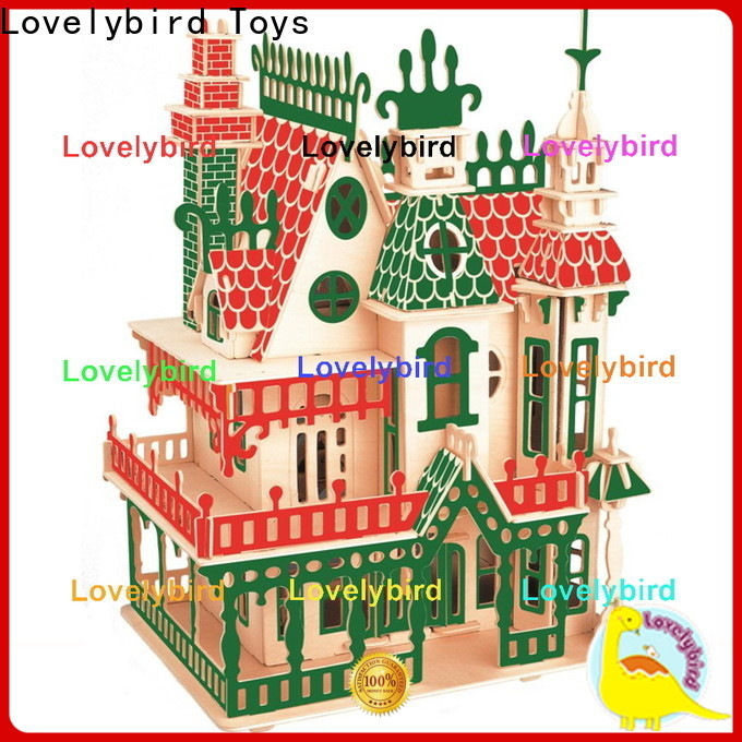 Lovelybird Toys new 3d building puzzle supply for business