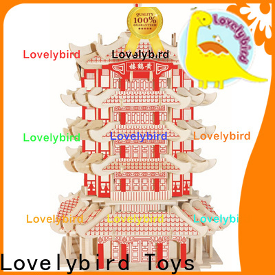 good selling 3d wooden puzzle house suppliers for business