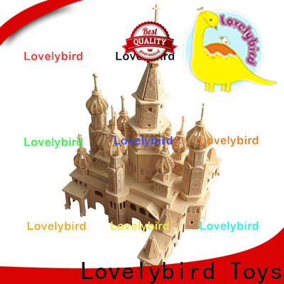 Lovelybird Toys hot sale 3d building puzzle suppliers for sale