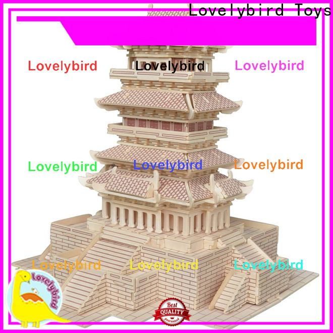 Lovelybird Toys latest 3d building puzzle company for business