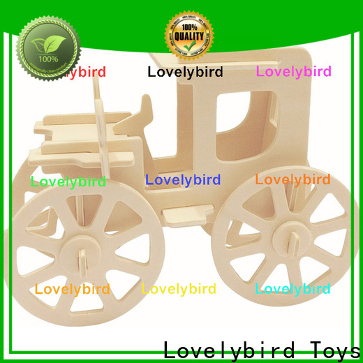 Lovelybird Toys 3d wooden puzzle ship company for sale