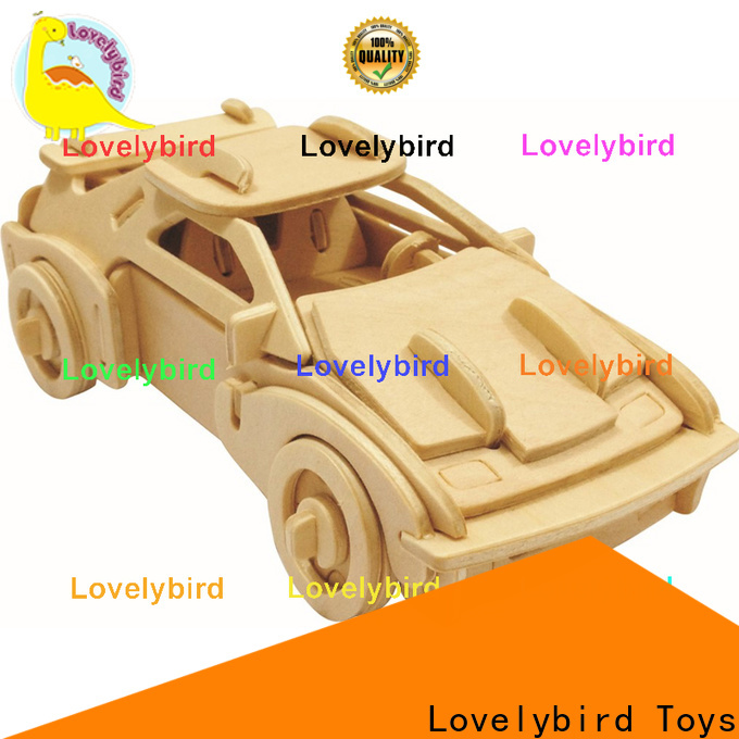 Lovelybird Toys 3d airplane puzzle supply for adults