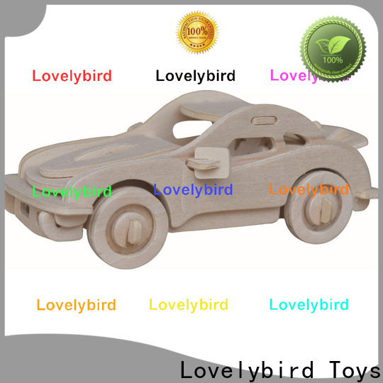 Lovelybird Toys 3d wooden puzzle car company for business